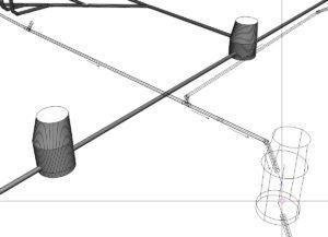 3B / 3B-Model: Şaft ve Borular.